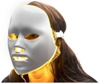 LED gezichtsmasker geel licht