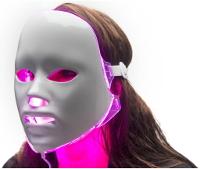 LED gezichtsmasker roze licht